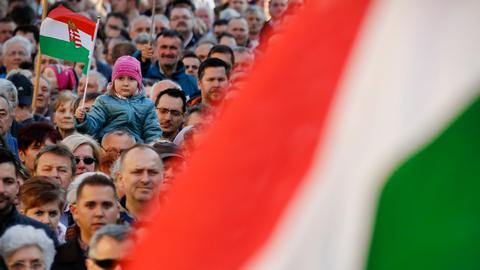 Hungarian parties rip into each other before Sunday's vote