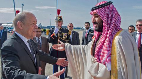 Investment and Iran high on agenda as France hosts Saudi crown prince