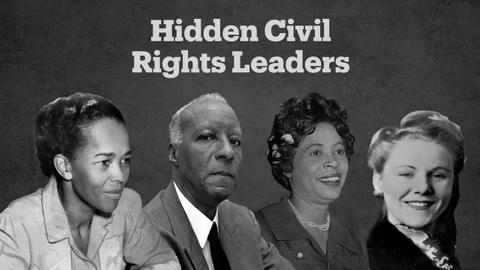 Lesser known leaders of the US civil rights movement