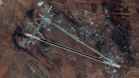 Damascus, Moscow accuse Israel of striking regime air base in Syria's Homs