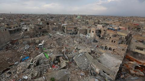Contamination a new threat in Iraq's Mosul