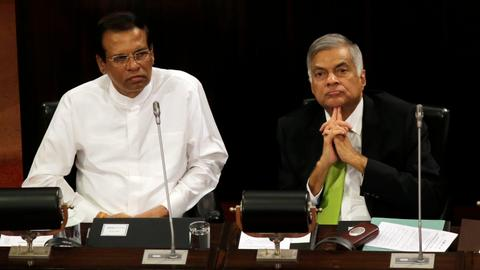 Sri Lanka's president suspends parliament until May 8