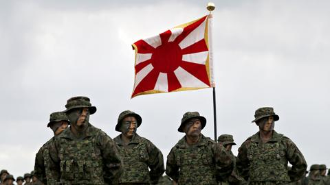 Japan activates first marines unit since WWII
