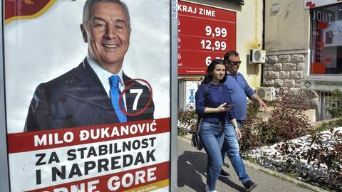 Montenegro votes for new leader with pro-Western veteran tipped to win