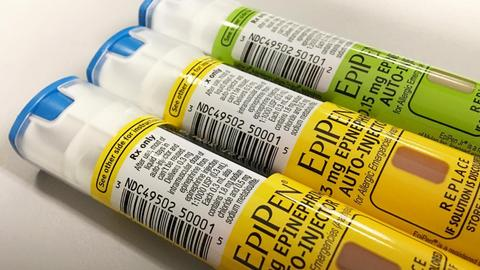 EpiPen shortages affect Canada and UK