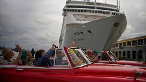 Despite US restrictions Cuba is having cruise boom