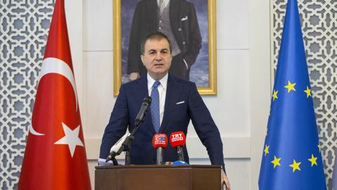 EU painting terror group as NGO is very wrong: Turkey