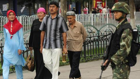 UN says a million Uighurs held in China camps