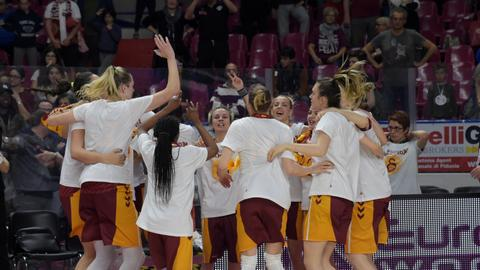 Galatasaray women's basketball team wins EuroCup title