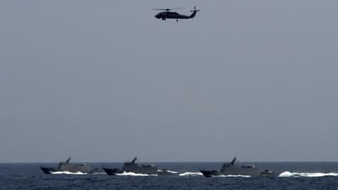 Live-fire drill off China's southeast coast irks Taiwan