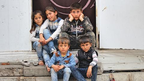 In pictures: Syrian refugees at a Turkish border town
