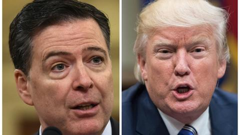 Trump would be arrested over Mueller report if he weren't president: Comey