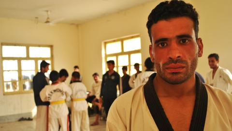Taekwando goes tribal in Pakistan