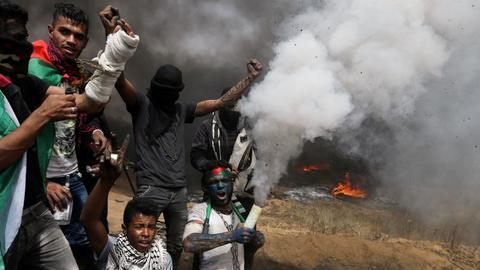 Israeli forces kill four Palestinians on Gaza-Israel border