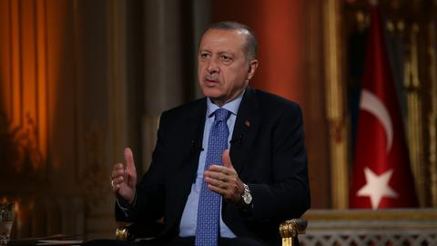 Turkey's president condemns US support of YPG ahead of snap election