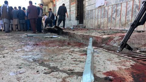 Blast at voter centre kills dozens in Afghanistan's Kabul