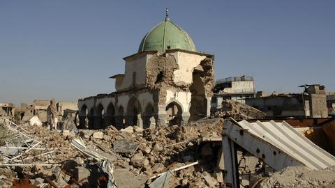 Iraq and UAE to rebuild iconic Mosul mosque destroyed in Daesh fight