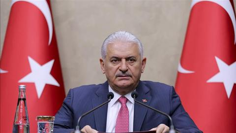 Turkish Prime Minister Yildirim leaves for Spain to attend talks