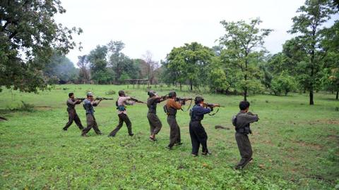 Dozens of Maoist rebels killed in jungle raids in India