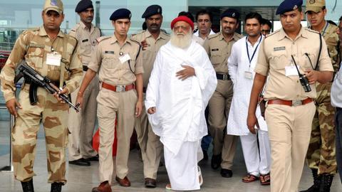 Indian spiritual guru gets life in prison for raping teenage girl