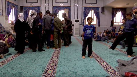 Douma's internally displaced people find refuge in Al Bab mosque