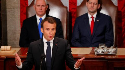 France's Macron not sure Trump will 'preserve' Iran deal