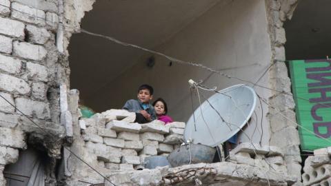 Russia vetoes UN resolution to stop Aleppo bombings
