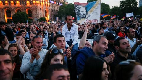 Armenia's acting PM rejects talks with opposition leader