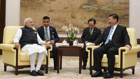 India's Modi gets museum tour with Xi as China trip begins