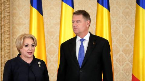 Romanian president seeks PM's resignation over Israel embassy row