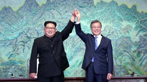Global powers welcome historic Korean summit