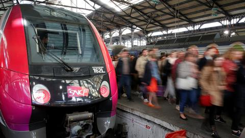 France's rolling rail strikes disrupt businesses