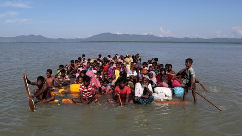UN envoys eye action on Rohingya refugee crisis