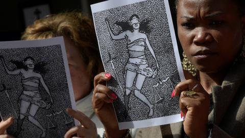 In pictures: Protests in Spain over gang rape acquittal