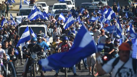Nicaragua student protesters ready for conditional talks