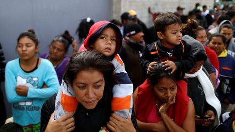 Central Americans will seek asylum at southern US border