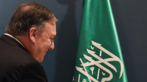 During Saudi Arabia visit, Pompeo stresses need for Gulf unity against Iran