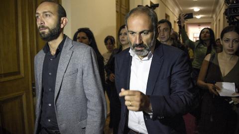 Armenia opposition leader nominated for prime minister