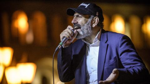 Armenian parliament to vote on opposition leader's bid for PM
