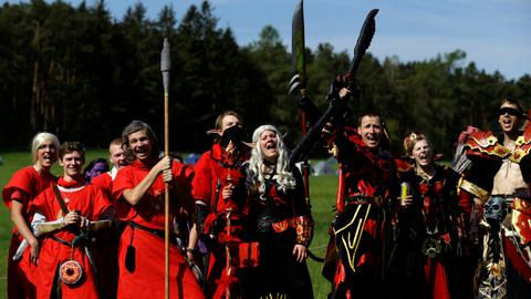 World of Warcraft goes offline to Czech forest