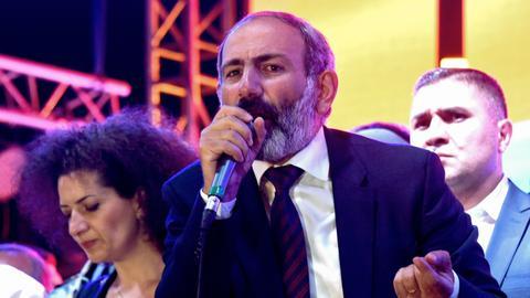 Who is Armenian opposition leader Nikol Pashinyan?