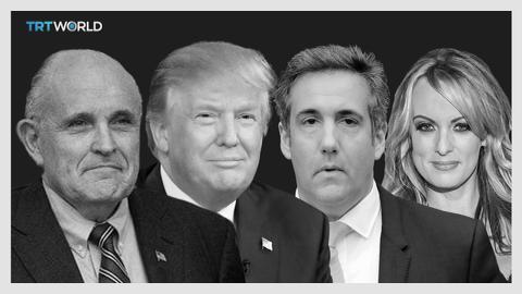 Giuliani says Trump repaid $130,000 his lawyer paid adult-film star
