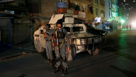 14 killed in attack on shrine in Kabul
