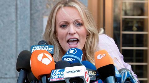 Trump admits reimbursing lawyer for adult-film star payoff