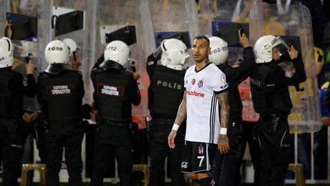 Besiktas booted from Turkish Cup after no-show