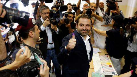 Lebanon's Hariri says his party has lost a third of its seats in parliament