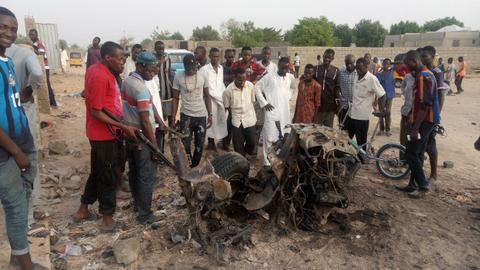 Nigeria military helps rescue 1,000 Boko Haram hostages