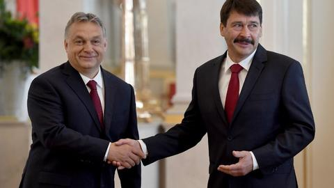 Hungary prime minister readies for new term as opposition struggles