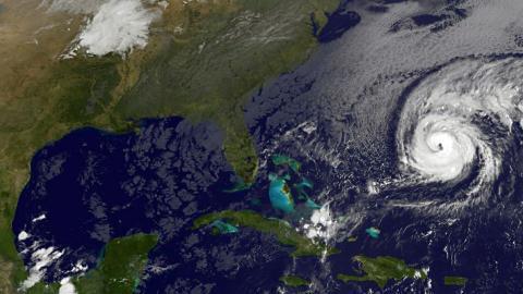 Hurricane Nicole barrels toward Bermuda