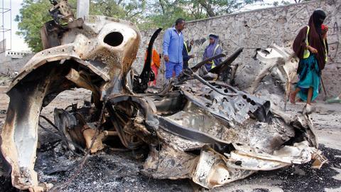 Somalia blast kills at least 5 in khat market near Mogadishu